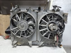 Hyundai kia radyatör çift fan peteği